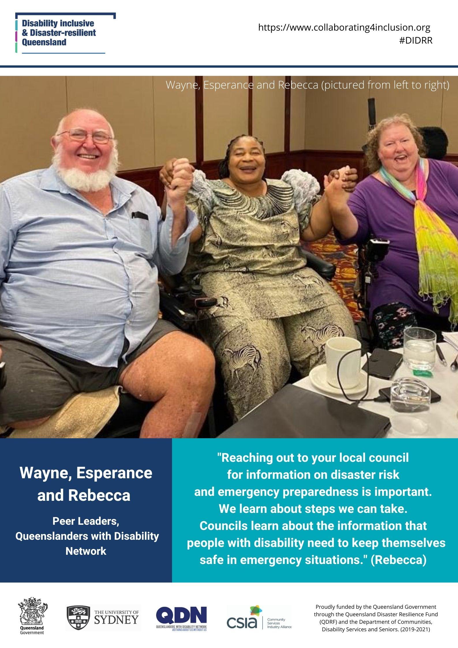 Wayne Esperance Rebecca, 12.5.2020